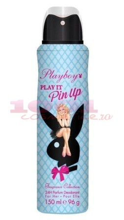 Playboy Play It Pin Up Deodorant Spray