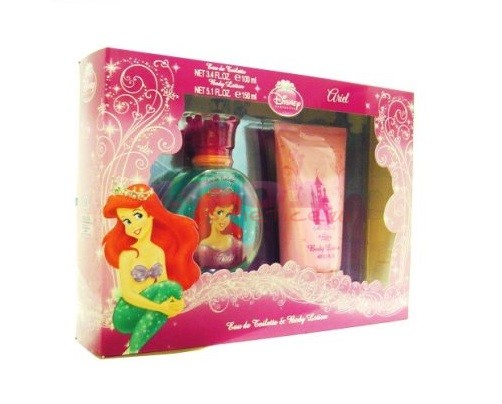 Disney Princess Ariel Eau De Toilette & Body Lotion