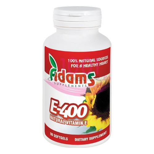 ADAMS E 400 NATURAL VITAMIN E CUTIE 90 TABLETE GUMATE