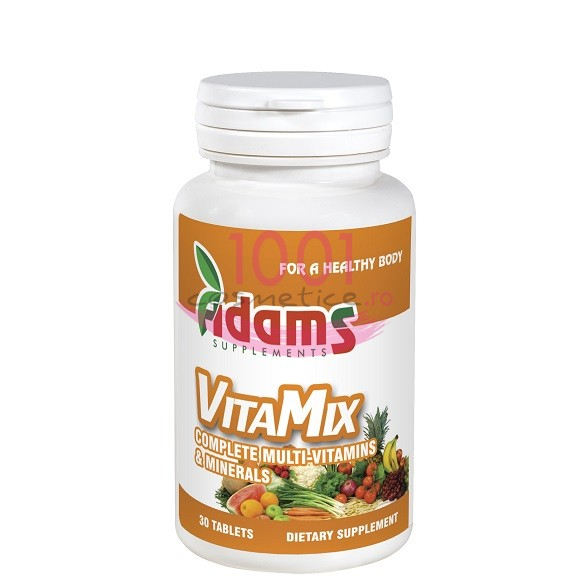 ADAMS VITAMIX COMPLEX DE VITAMINE SI MULTIMINERALE