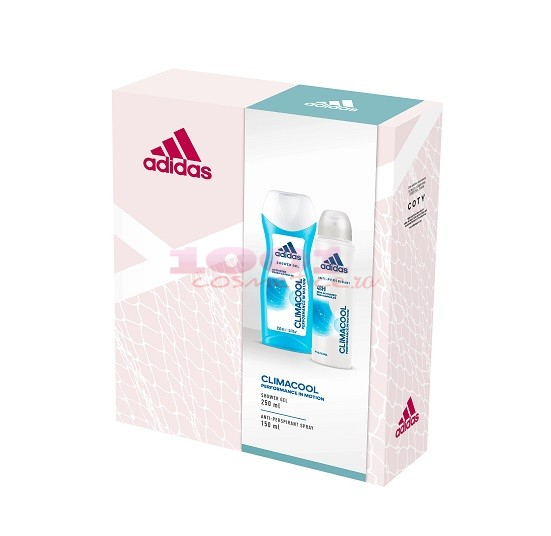 adidas CLIMACOOL WOMEN ANTI-PERSPIRANT SPRAY 150 ML + GEL DE DUS 250 ML SET