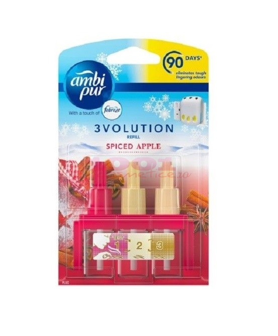 AMBI PUR 3EVOLUTION SET 3 BUCATI REZERVE SPICED APPLE