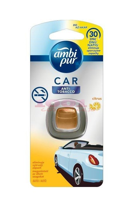 AMBI PUR CAR ODORIZANT AUTO ANTI-TOBACCO