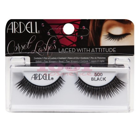 ARDELL CORSET LASHES 500 BLACK