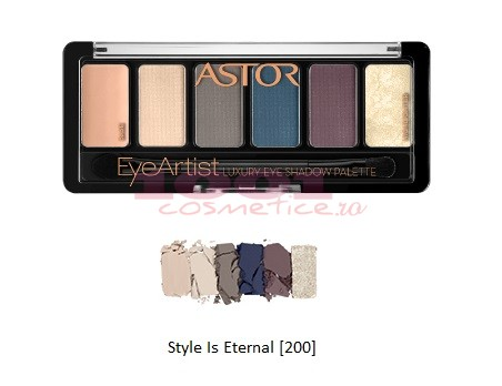 Astor Eye Artist Luxury Eye Shadow Paleta Farduri 200 Style Is Eternal
