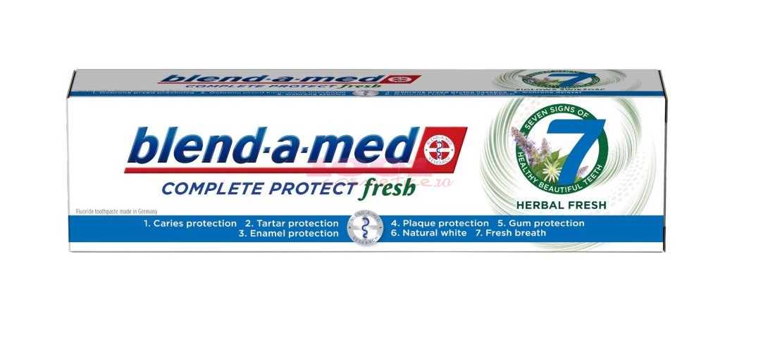 BLEND A MED COMPLETE PROTECT HERBAL FRESH PASTA DE DINTI