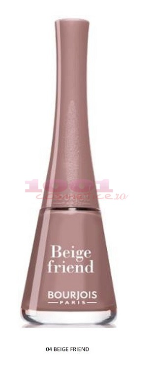BOURJOIS 1 SECONDE LAC DE UNGHII BEIGE FRIEND 04