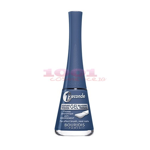 BOURJOIS 1 SECONDE LAC DE UNGHII CU ASPECT DE GEL BLUE DE NIME 53