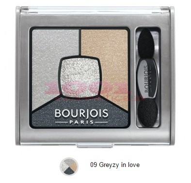 BOURJOIS SMOKY STORIES PALETA DE FARDURI GREY ZY IN LOVE 09