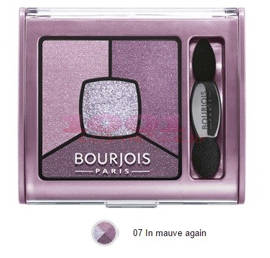 BOURJOIS SMOKY STORIES PALETA DE FARDURI MAUVE AGAIN 07