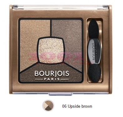 BOURJOIS SMOKY STORIES PALETA DE FARDURI UPSIDE BROWN 06