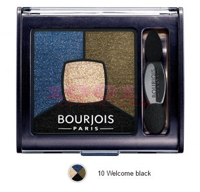BOURJOIS SMOKY STORIES PALETA DE FARDURI WELCOME BLACK 10