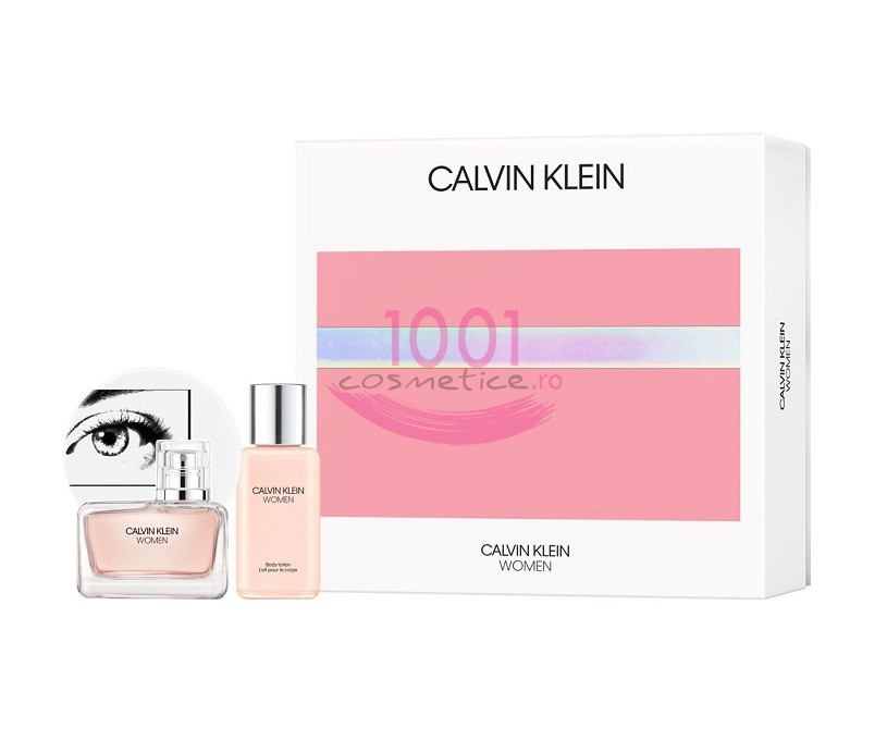 CALVIN KLEIN WOMEN EDP 50 ML + LOTIUNE DE CORP 100 ML SET