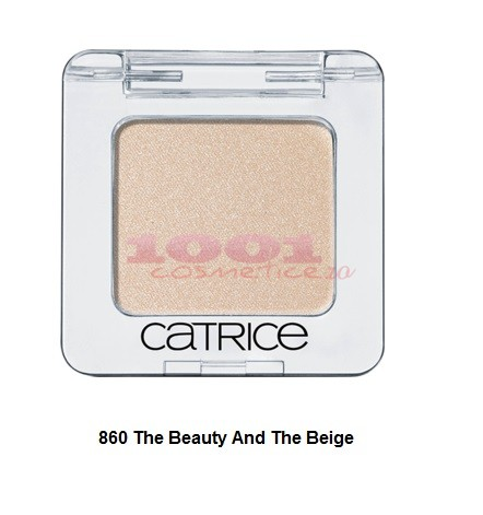 CATRICE ABSOLUTE EYE COLOUR MONO FARD DE PLEOAPE THE BEAUTY AND THE BEIGE 860