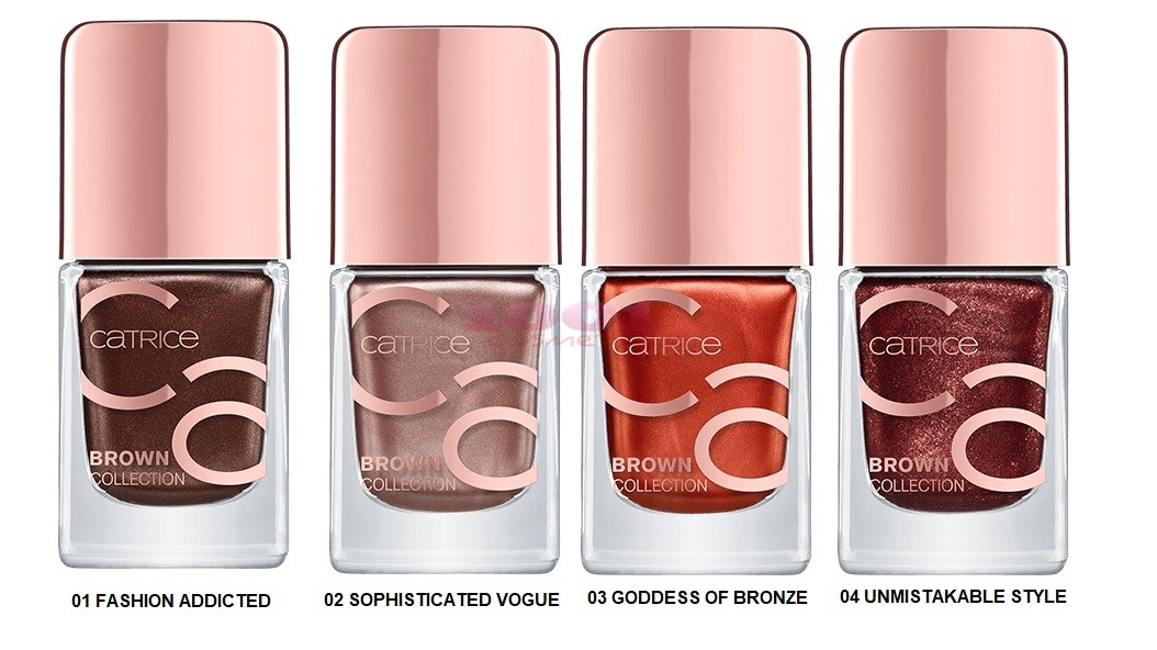 Catrice Brown Collection Nail Lacquer imagine produs