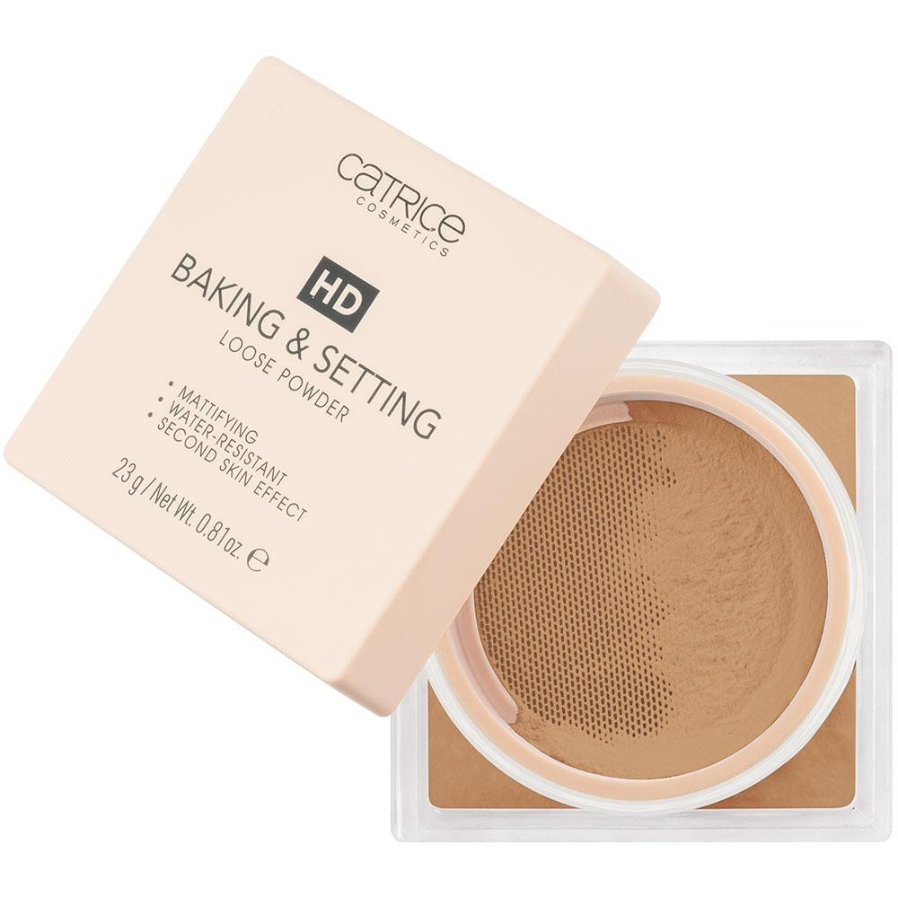 Catrice Hd Baking & Setting Loose Powder Pudra Fixatoare Pulbere Warm Nude C04