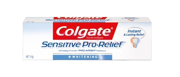 COLGATE SENSITIVE PRO-RELIEF WHITENING PASTA DE DINTI