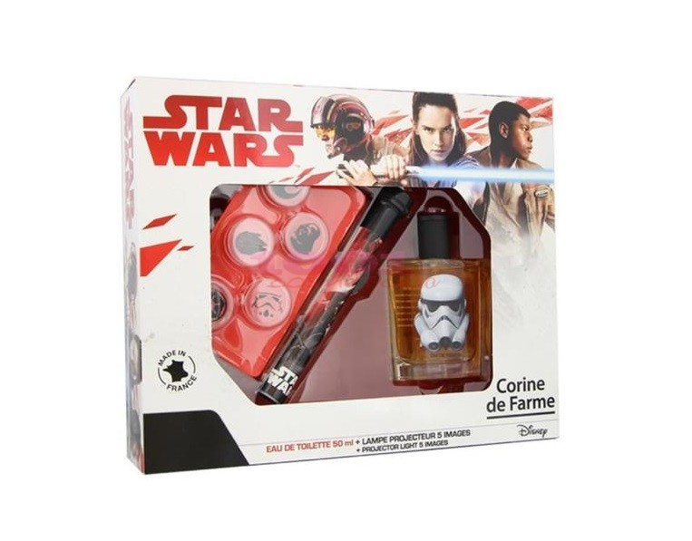 CORINE DE FARME SET DISNEY STAR WARS EDT 50 ML+ LANTERNA 5 IMAGINI