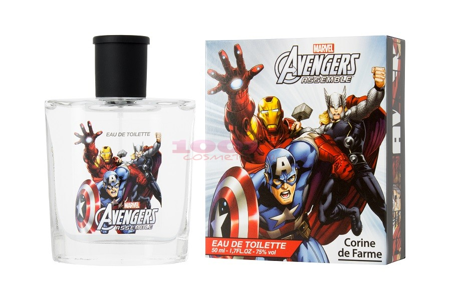 DISNEY CORINE DE FARME AVENGERS EDT 50 ML
