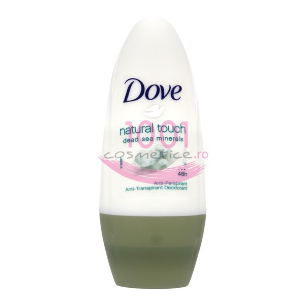 DOVE GO FRESH NATURAL TOUCH DEAD SEA MINERALS ROLL ON