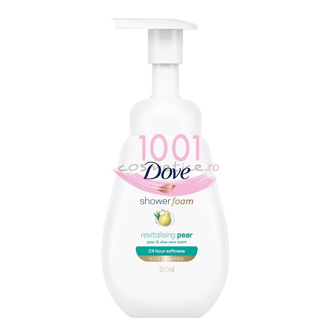 DOVE REVITALISING PEAR MILD & GENTLE SPUMA DE DUS