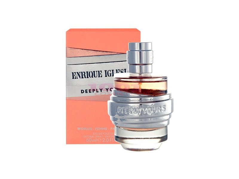 ENRIQUE IGLESIAS DEEPLY YOURS EAU DE TOILETTE WOMAN