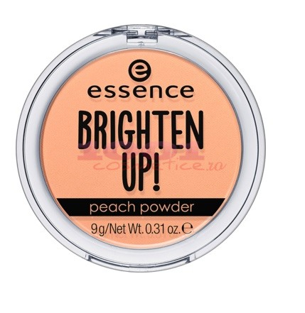 ESSENCE BRIGHTEN UP!  PEACH POWDER PUDRA MATIFIANTA TRANSLUSCENTA
