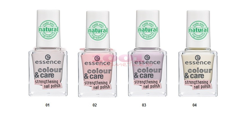 ESSENCE  COLOR CARE STRENGTHENING NAIL POLISH