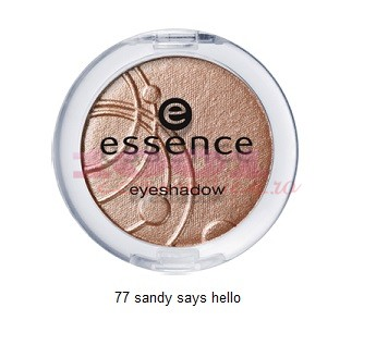 Essence Fard De Pleoape Mono Sandy Says Hello 77
