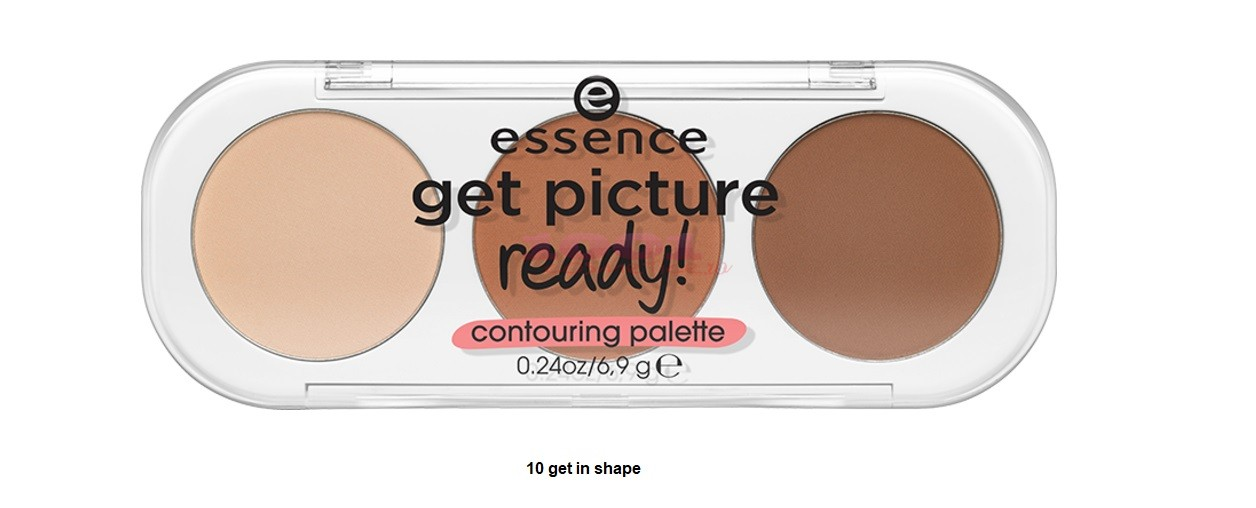ESSENCE GET PICTURE READY CONTOURING PALETTE 10