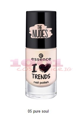 Essence The Nude Lac De Unghii Pure Soul 05