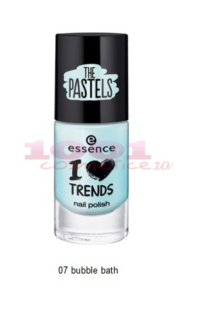 Essence The Pastels Lac De Unghii Bubble Bath 07