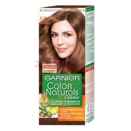 GARNIER COLOR NATURALS CREME 6.23 SATEN EFERVESCENT