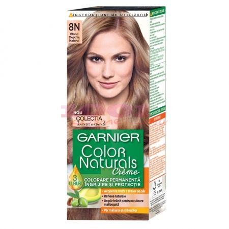 GARNIER COLOR NATURALS CREME 8N BLOND DESCHIS NATURAL
