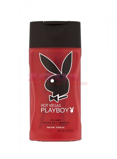Hot Vegas Playboy Gel De Dus Si Sampon Pentru Barb