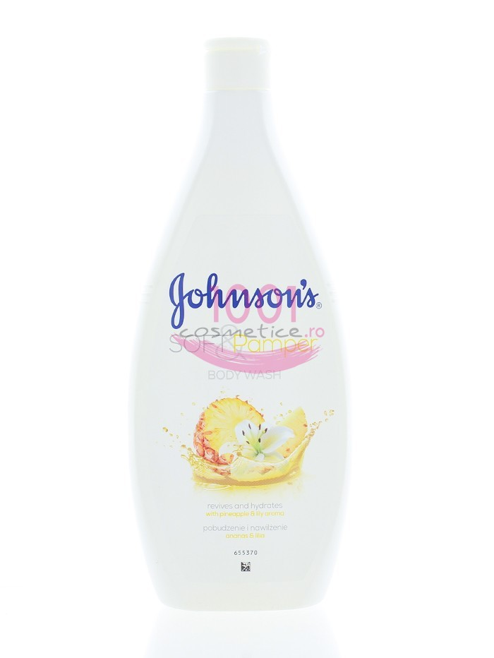 JOHNSON SOFT & PAMPER BODY WASH WITH PINEAPPLE & LILY AROMA