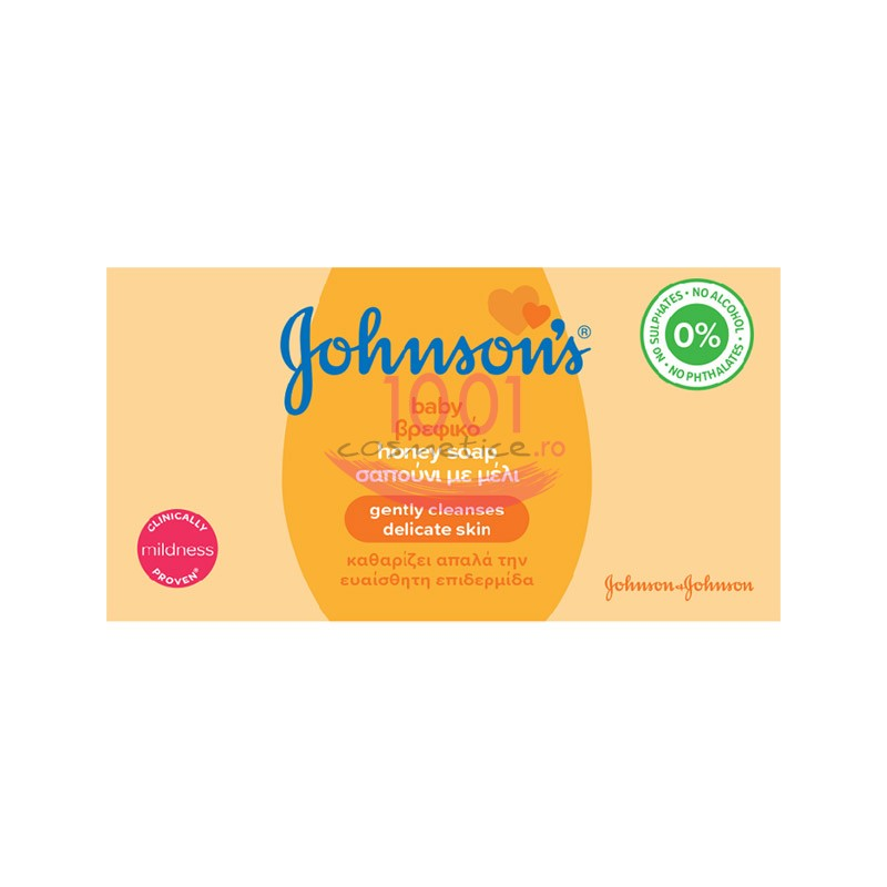 JOHNSONS BABY SAPUN CU EXTRACT DE MIERE