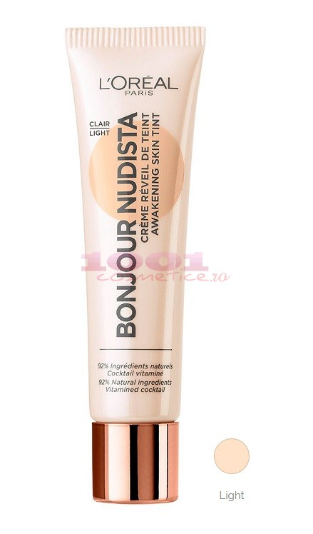 LOREAL BONJOUR NUDISTA BB CREAM CLAIR/LIGHT