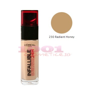LOREAL INFAILLIBILE FOND DE TEN NOU RADIANT HONEY 230