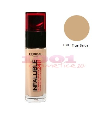 LOREAL INFAILLIBILE FOND DE TEN NOU TRUE BEIGE 130