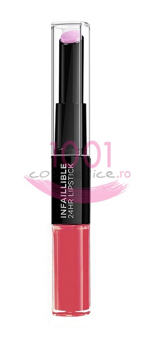 LOREAL INFAILLIBLE 2 STEP 24H RUJ ULTRAREZISTENT 109 BLOSSOMING BERRY