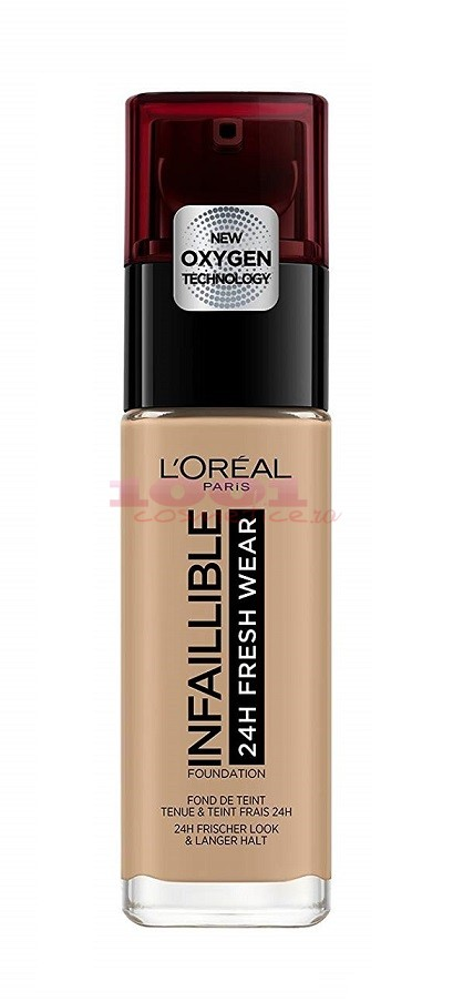 LOREAL INFAILLIBLE 24H FRESH WEAR FOND DE TEN NATUREL BEIGE ECLAT/RADIANT BEIGE 150