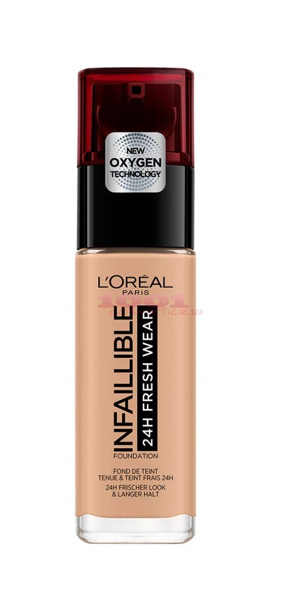 LOREAL INFAILLIBLE 24H FRESH WEAR FOND DE TEN NATUREL MIEL/HONEY 235
