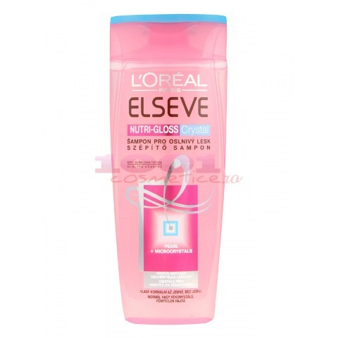 LOREAL PARIS ELSEVE NUTRI-GLOSS CRYSTAL SAMPON FEMEI