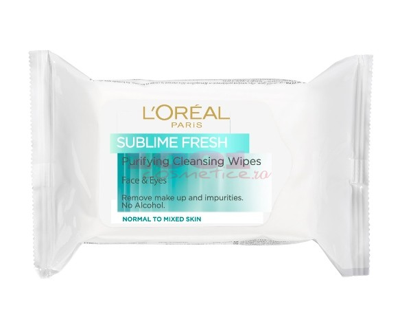 LOREAL SUBLIME FRESH SERVETELE DEMACHIANTE TEN NORMAL