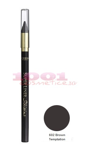 Loreal Superliner Silkissime Brown Temptation 602