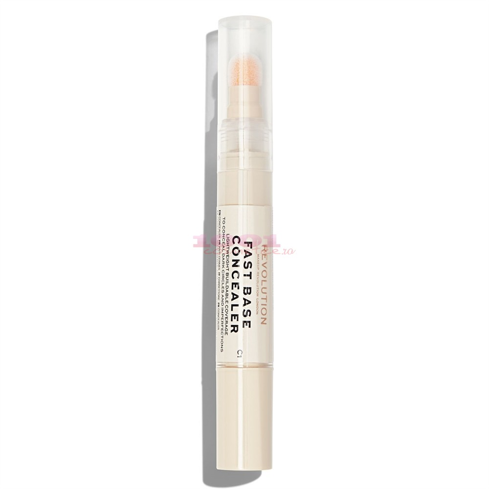 MAKEUP REVOLUTION FAST BASE CONCEALER BAZA CORECTOARE C1