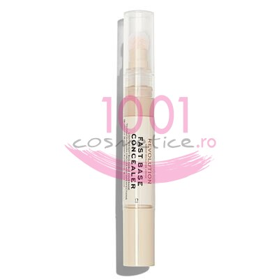 MAKEUP REVOLUTION FAST BASE CONCEALER BAZA CORECTOARE C3