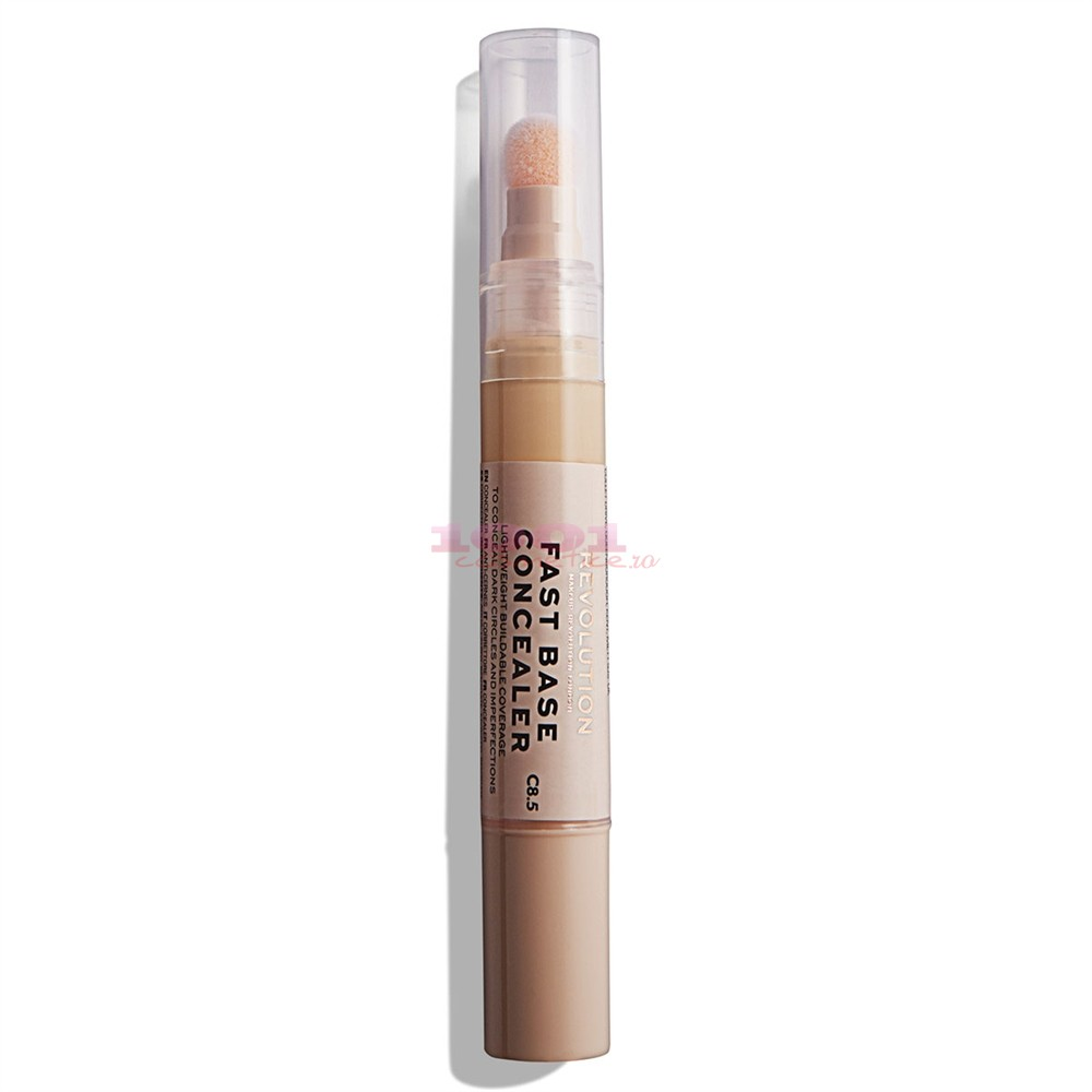 MAKEUP REVOLUTION FAST BASE CONCEALER BAZA CORECTOARE C8.5