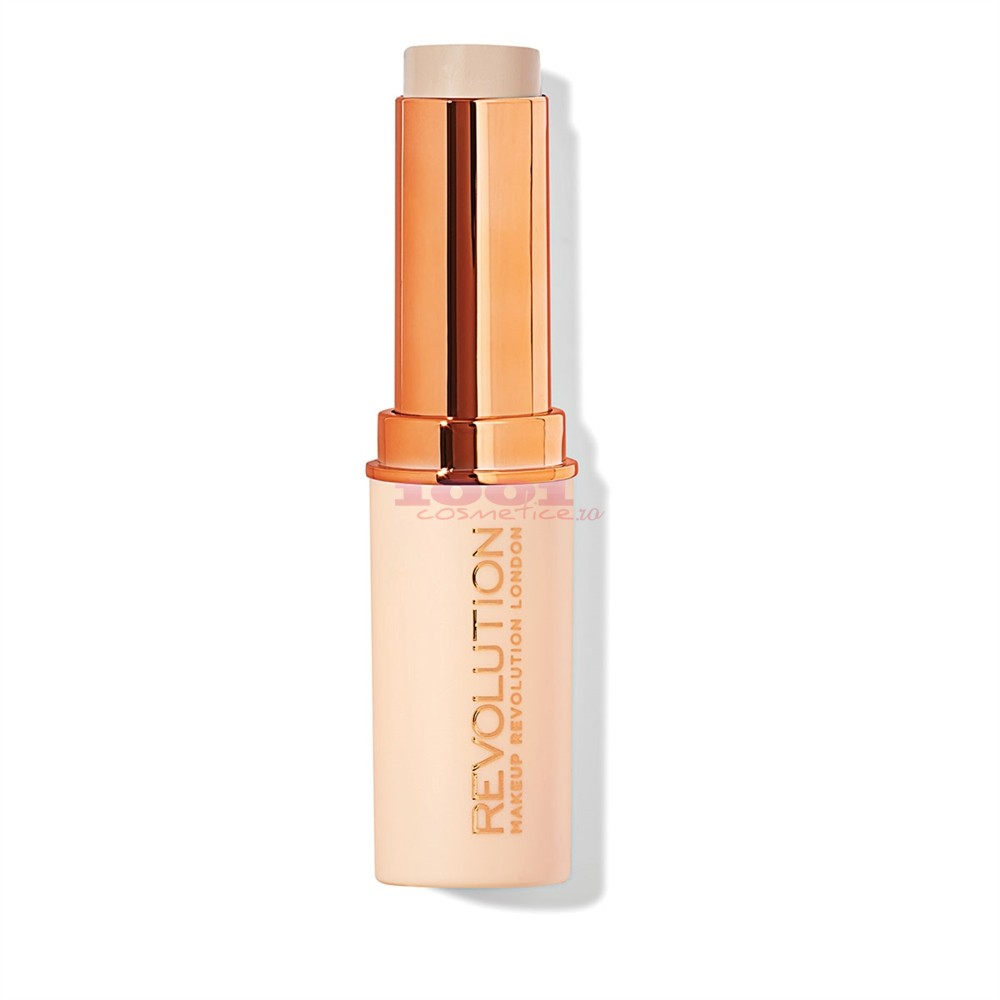 MAKEUP REVOLUTION FAST BASE STICK FOUNDATION FOND DE TEN STICK F1
